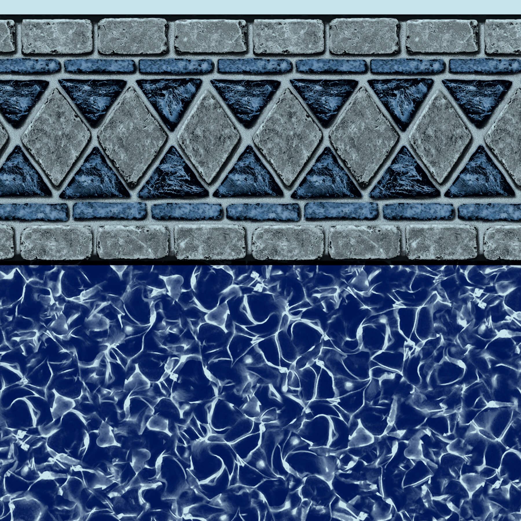 Hampton Bays Tile Blue Lagoon Bottom