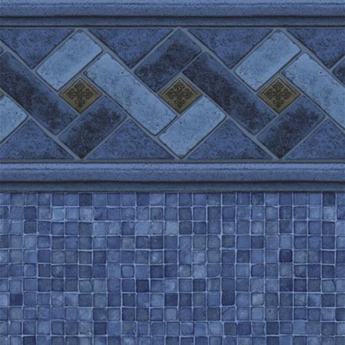 Siesta Key Tile Blue Reef Bottom Square