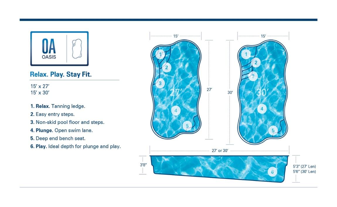 Hendrick Pool Fiberglass Pools